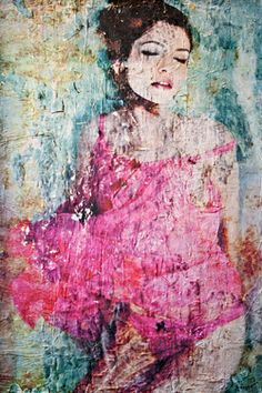 """Saatchi Online Artist Anyes Galleani; Collage, """"Beautiful Decay"""" #art"""