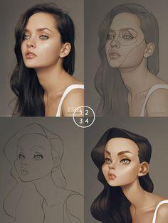 ArtStation - Woman2, miji lee