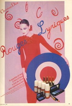 One of the last Serge Lutens for Dior, 1980.