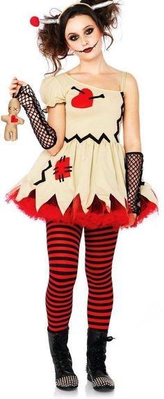 cute halloween costumes for teens makeup ideas easy halloween costumes for teens ideas halloween costumes for teens diy creative Creepy Doll Halloween Costume, Rag Doll Halloween Costume, Scary Dolls, Cute Halloween Costumes For Teens, Mom Costumes, Costumes For Women, Halloween Ideas, Costume Ideas, Halloween 2019