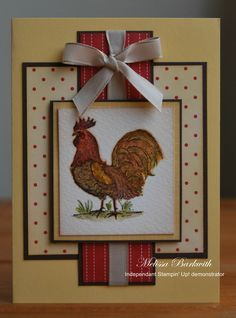 stampin up rustic rooster - Google Search