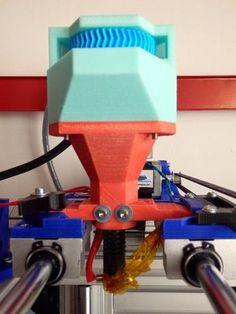 3ders.org - New Universal Pellet Extruder is an open source pellet extruder for multiple materials | 3D Printer News & 3D Printing News
