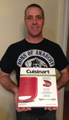 Doug won this non-stick grill for $0.39 using only 7 voucher bids! #QuiBidsWin