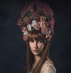 Headpiece Rose