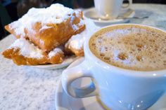 Enjoy a cup of coffee with the world's famous Cafe Du Monde Beignet's in the comfort of your own home! | CajunWholesale.com