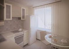 Дизайн кухни 6 кв м белой