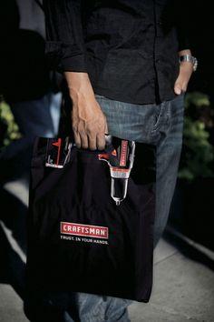 Craftsman Tools Drill Bag ibelieveinadv e1362037295398 Creative Shopping Bag Designs