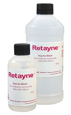 I pre-wash all my fabric in Retayne before I use it. It is a fixative for fabrics, keeping it from bleeding. I've never had a problem with bleeding or crocking since I started using it 11 years ago.