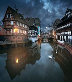 Strasbourg has been the subject of a centuries- long tug of war between France and Germany, and is all the more exciting and beautiful for… Places Around The World, The Places Youll Go, Places To See, Around The Worlds, Wonderful Places, Beautiful Places, Places To Travel, Travel Destinations, France Photos