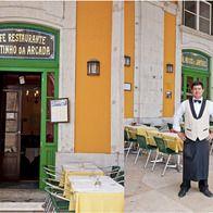 Cafe Martinho da Arcada, Lisbon, Portugal