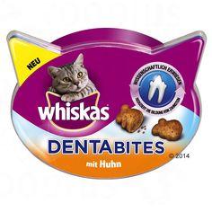 Animalerie  Whiskas Dentabites Friandises pour chat  5 x 40 g poulet