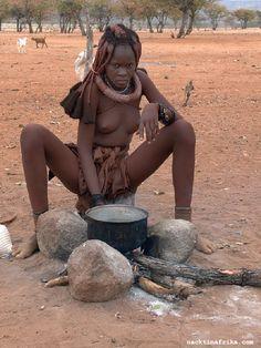 Himba woman, Angola/Namibia