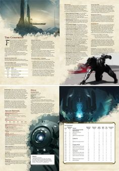 Otherworldly Patron: The Construct Warlock Class, Warlock Dnd, Dungeons And Dragons Classes, Dungeons And Dragons Homebrew, Dnd Characters, Fantasy Characters, Dnd Classes, Dnd Races, Open Image