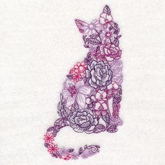 New embroidery stitches letters urban threads Ideas Folk Embroidery, Japanese Embroidery, Machine Embroidery Patterns, Hand Embroidery Designs, Ribbon Embroidery, Embroidery Stitches, Embroidery Ideas, Tattoo Und Piercing, Images Noêl Vintages