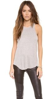 Everyday Chic | Outfit | SHOPBOP| Splendid 2x1 Racer Back Tank Top