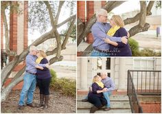 Engaged couple beautifully incoporated their school colors at their engagement session on the campus of their alma mater! What to wear for your photography session Engagement Couple, Engagement Session, Alma Mater, School Colors, Small World, Photo Sessions, Amanda, What To Wear, Couples