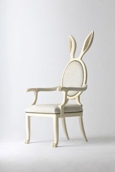 Rabbit ear chair. I would take a picture of everyone who say in this.