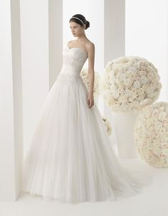 Two by Rosa Clara Wedding Dresses 2014 Bridal Collection - MODwedding