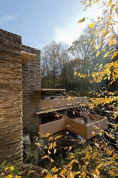 Fallingwater. Frank Lloyd Wright. 1936-1939, Bear Run, Pennsylvania.