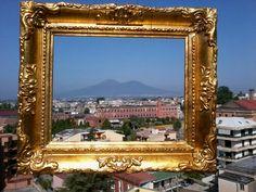 Sarno filanda con Vesuvio