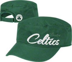 Boston Celtics Women's Green adidas Military Hat