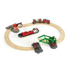 Train brio : Circuit d'activités portuaires - Brio-33061