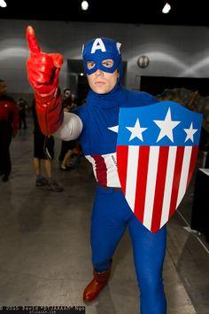 Captain America #Comikaze 2015