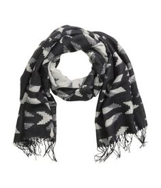 Patterned Scarf $17.95 | H&M US