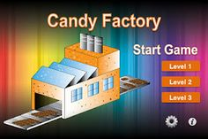 Candy Factory:   Who doesn't like solving real-world math problems? Honestly, problems should have real-world applications. Here is Candy Factory, a fractions game. The best part is that it is FREE.