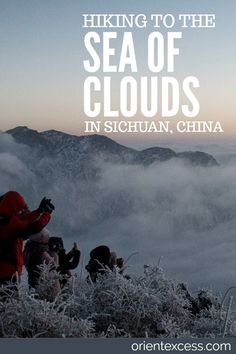 Discovering the Sea of Clouds while hiking Niu Bei Mountain in #Sichuan , #china