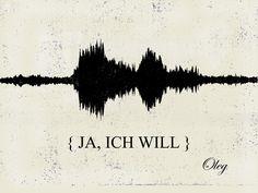 Ja-Wort als Bild - Studio 2stimmig - Audioproduktion Videoproduktion Web IT