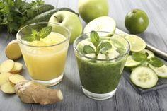 Zenzero, limone e cetriolo: via il grasso in eccesso grazie al frullato notturno
