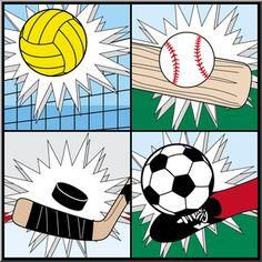 Sports - Clip Art for Teachers, Parents, Students, and the Classroom   abcteach