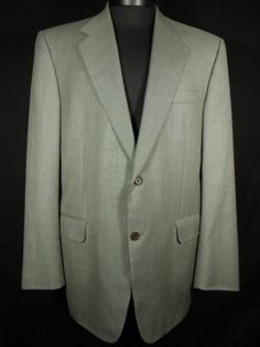Canali Blazer Suit Jacket Us 42R Eur 52R 2 Button 100% New Wool Made in Italy #Mensfashion #Style #Blackfriday http://r.ebay.com/azyw3X