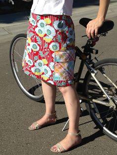 Mimi's Mom Saturday Skirt for Women PDF Sewing Pattern