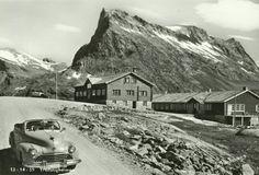 Møre og Romsdal fylke Rauma kommune Trollstigen Trollstigheimen 1950-tallet utg Normann