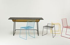 Love the chairs+table!! Din+dip design studio