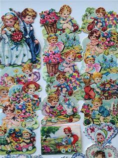 E.O blandning på Tradera.com - Bokmärken från 1950 och framåt | Vintage Paper, Vintage Art, Decoupage, Art Pictures, Group Pictures, Retro Toys, Baby Kind, Sticker Paper, Resin Art