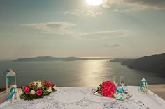 Jenna & Scott - Santorini Wedding