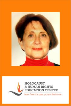 Holocaust and Human Rights Education Center – Learn from the past, protect the future Graduate Degree, Holocaust Survivors, Let Her Go, Education Center, Human Rights, Organizations, Paris France, Got Married, Temple