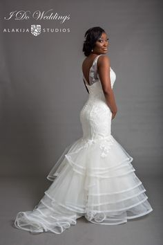 """2015 Bridal Collection by """"Love, Tims"""" by I Do Weddings - Aisle Perfect Unique Wedding Gowns, Long Wedding Dresses, Wedding Attire, Unique Weddings, Bridal Gowns, Bling Wedding, Wedding Bells, Wedding Day, Bridal Collection"""