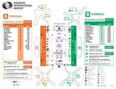 Detailed Map And Information About The Orlando