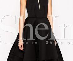Black Halter Backless Flare Dress. Fashion : Dresses : Black Halter Backless Flare Dress - See more at: http://spenditonthis.com/cat-13-fashion-newest.html#sthash.w5qQhEjP.dpuf