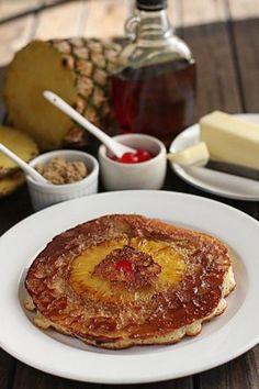 Pineapple Upside-Down Pancakes Recipe - The Hopeless Housewife®