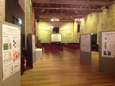 Our first conference at the Barns for 80 people