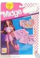 Mattel Barbie Midge Wedding Day Fashions ~ Honeymoon Outfits ~ NRFB!