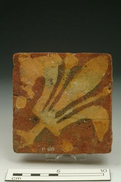 Floor tile Production Date: Early Medieval; mid-late 13th century