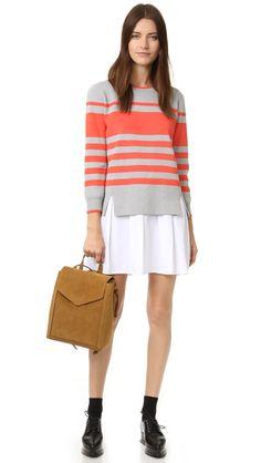 English Factory Sweater Shirt Dress - on sale + under $75