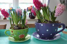 Tea time: spring