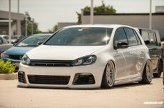 Bagged #VW #Golf R #ValleyMotorsVW